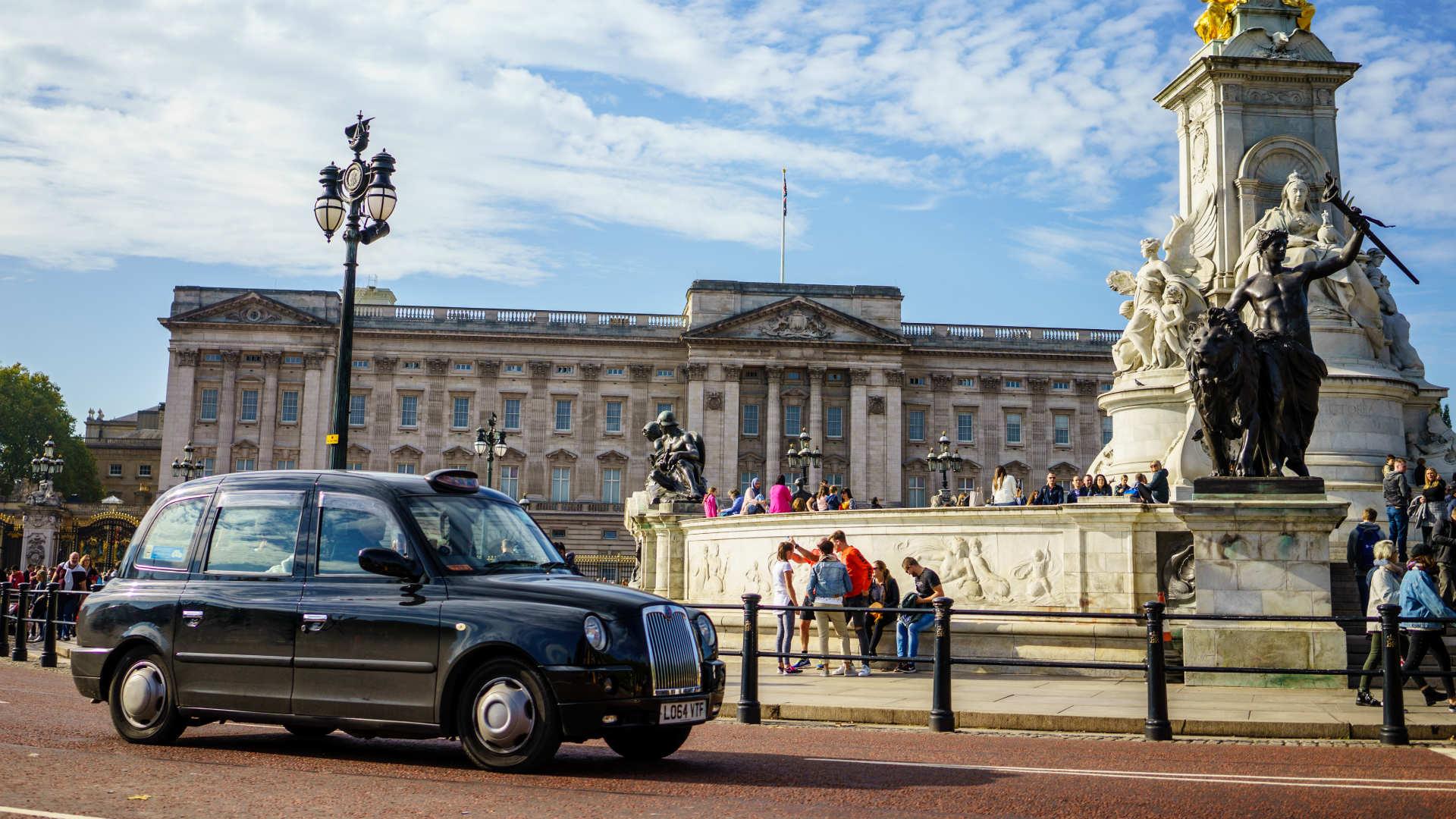 Buckingham Palace dangerous place to drive past