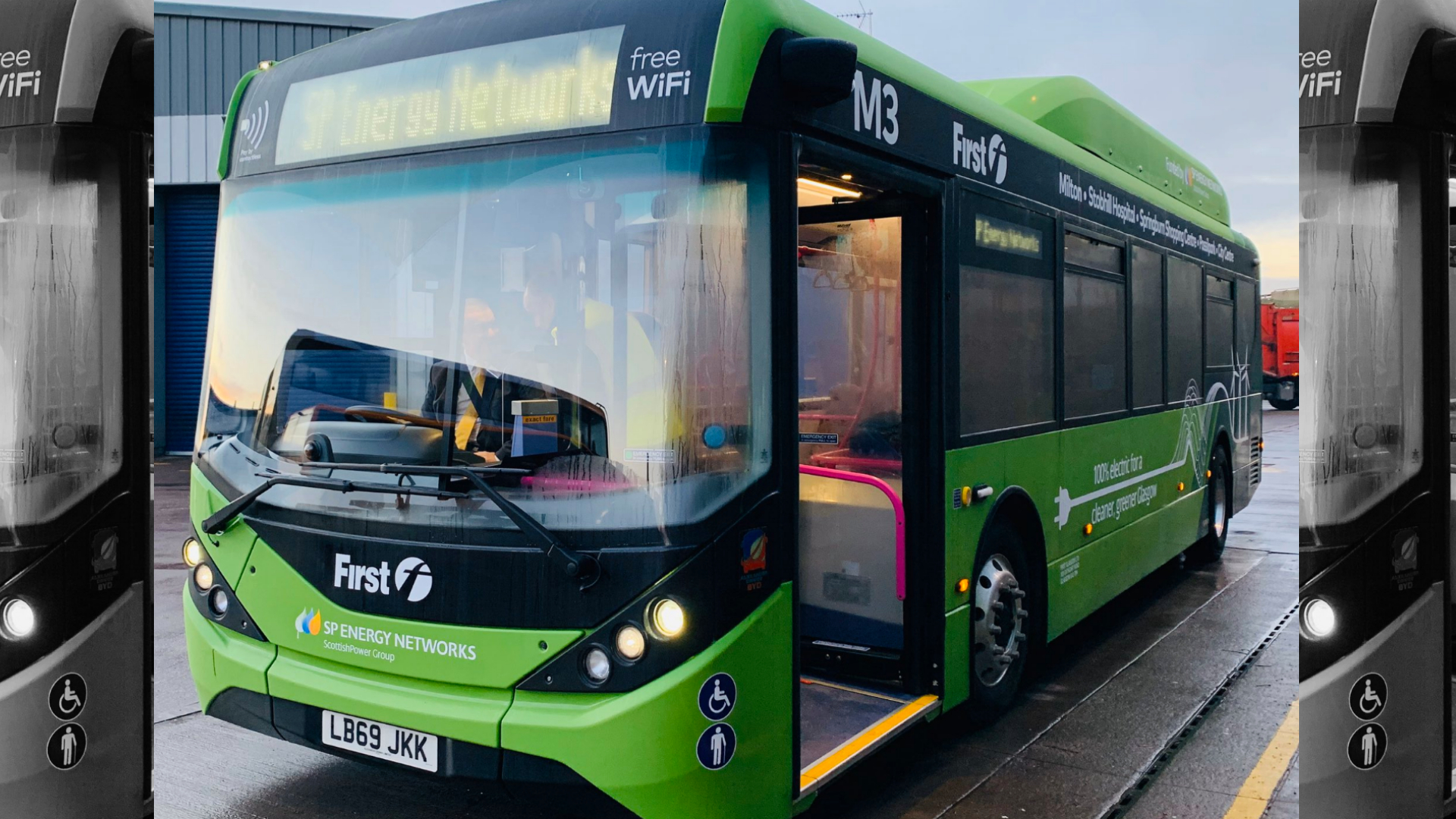 Electric buses coming to Glasgow