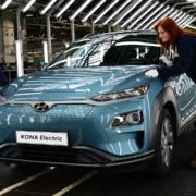 Hyundai Kona Electric built in Europe