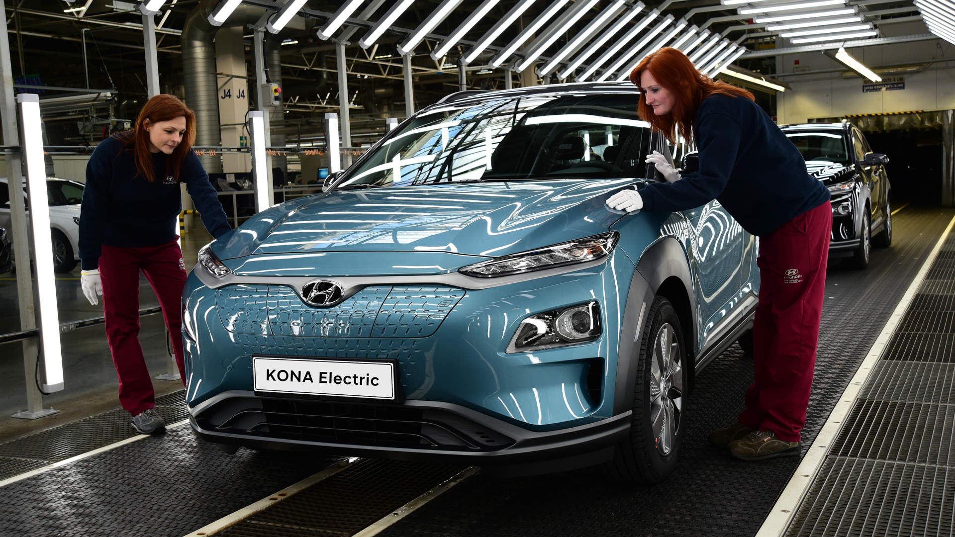 Hyundai Kona Electric built in Europe