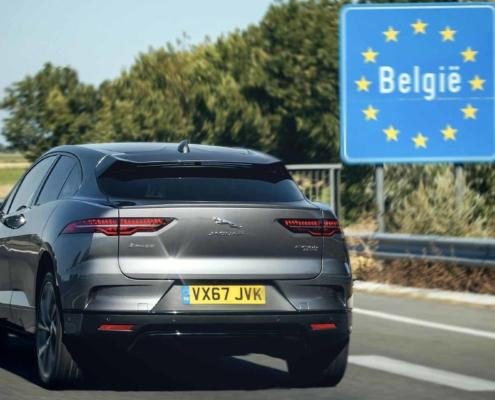 Jaguar I-Pace in Belgium
