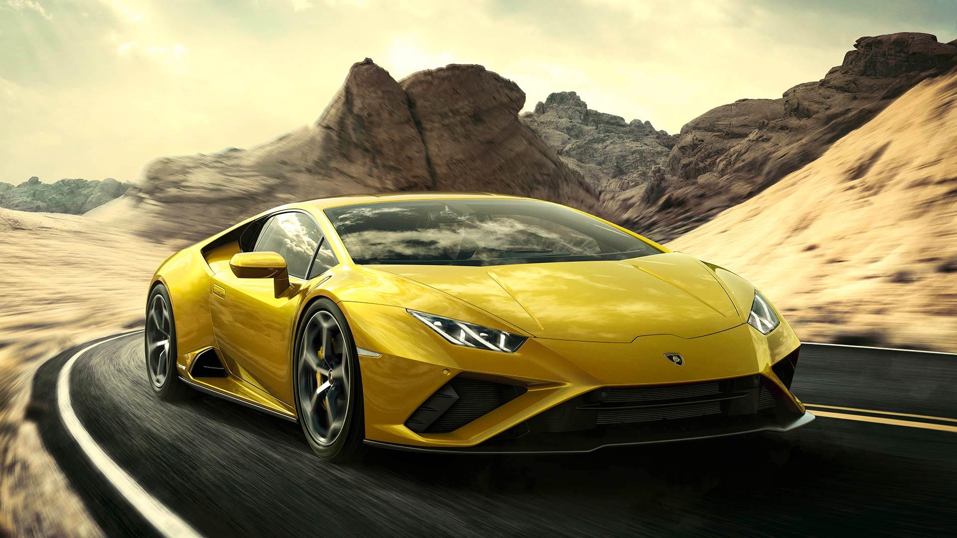 Lamborghini reveals new rear wheel drive Huracan Evo ...