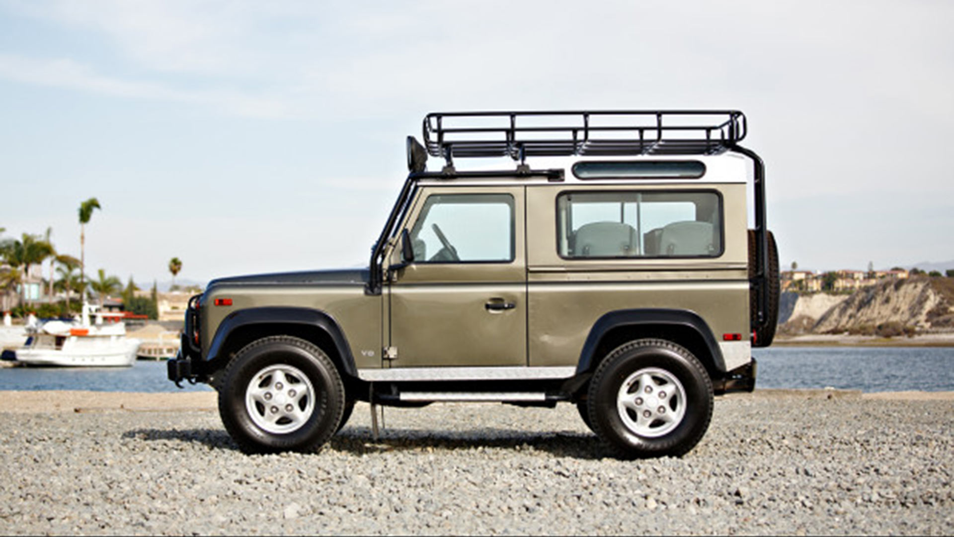 Last NAS Land Rover Defender 90 auction