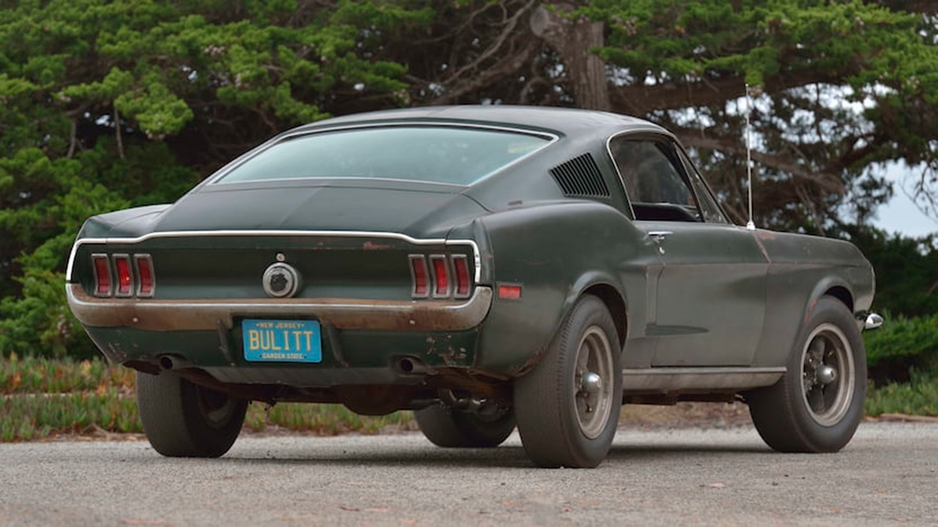Original Bullitt Mustang sells at Mecum Auction