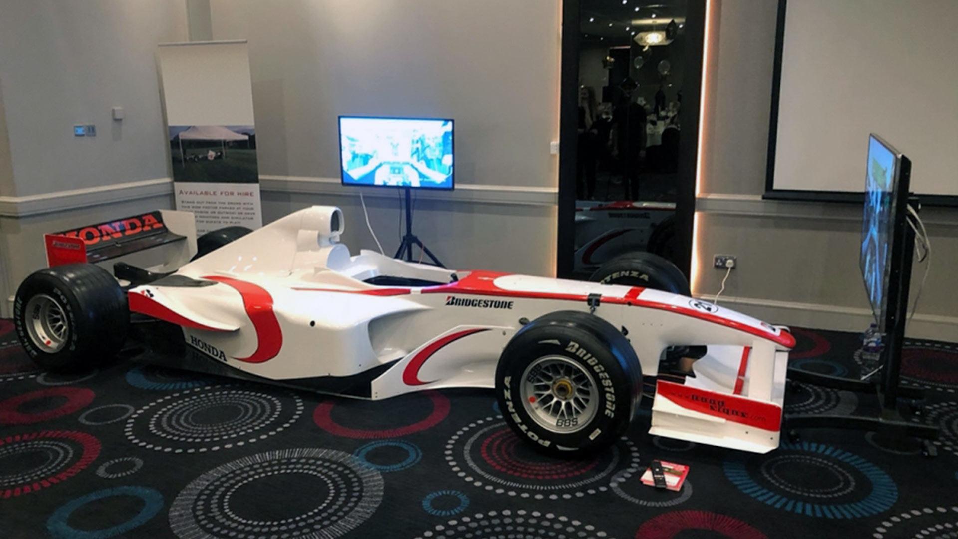Race Retro Super Aguri F1 Simulator