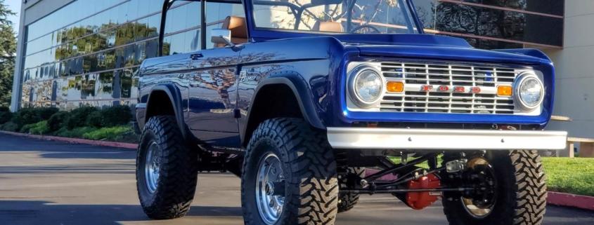 SEMA WD40 1966 Ford Bronco