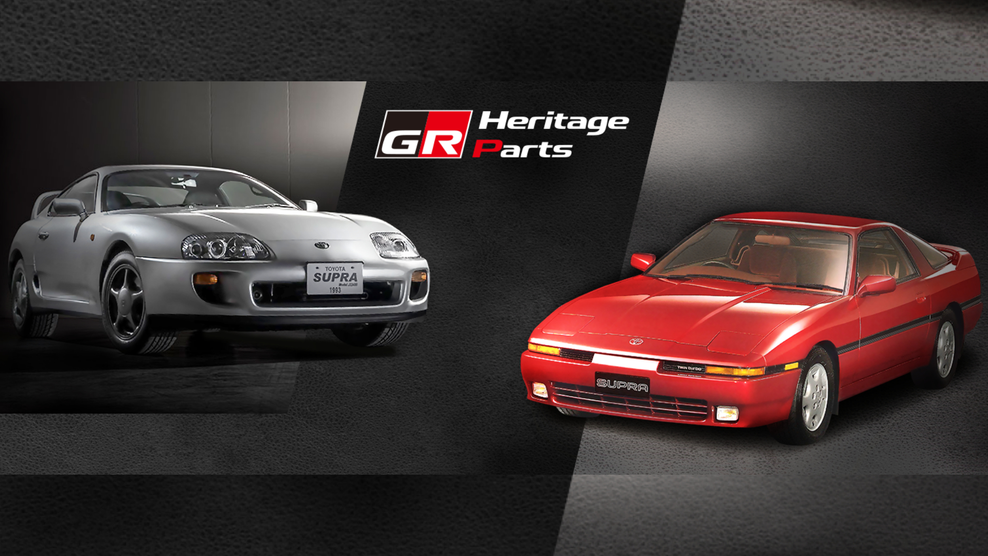 Toyota GR Heritage reproducing Supra parts