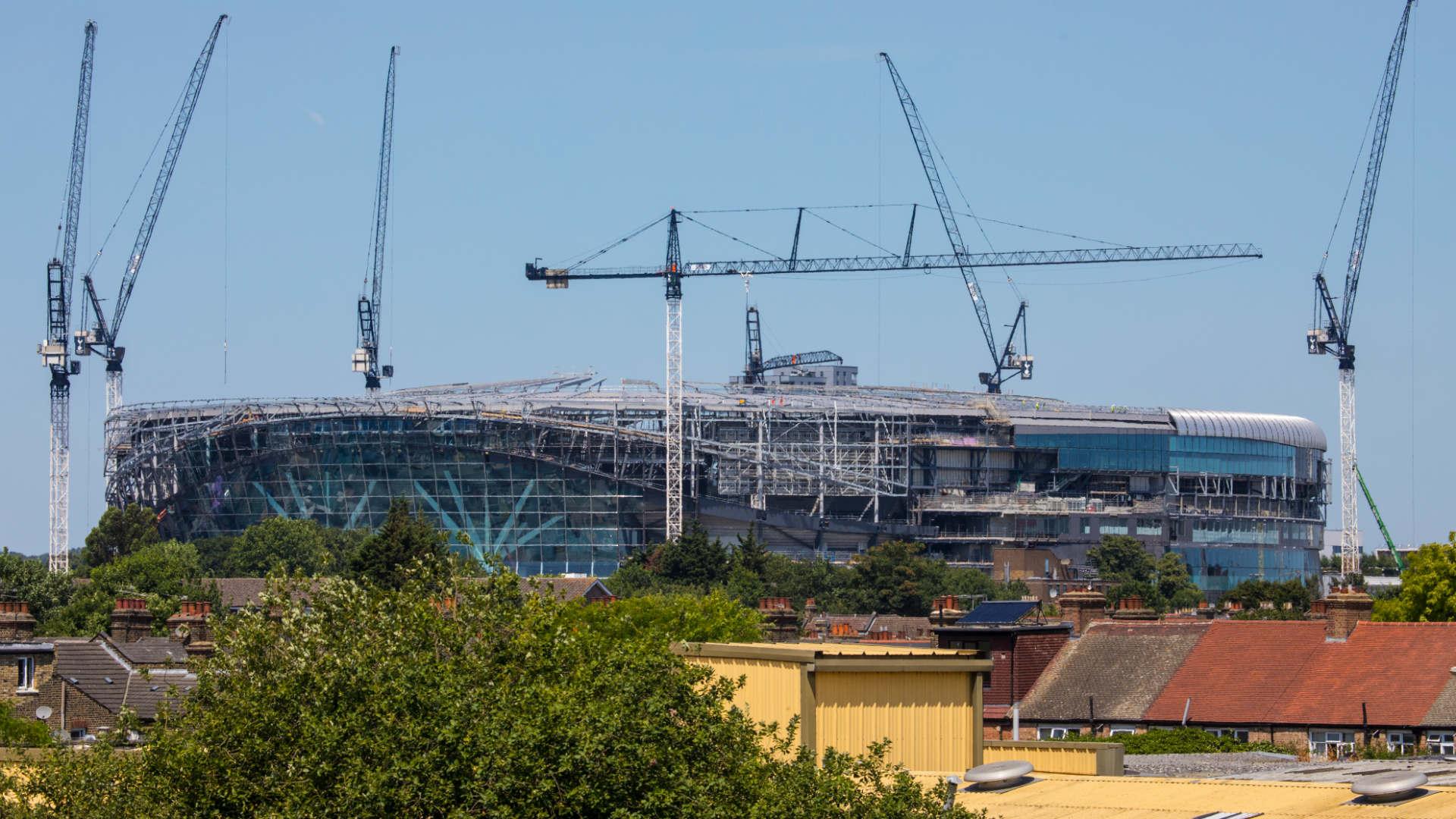 Tottenham Hotspur Stadium construction