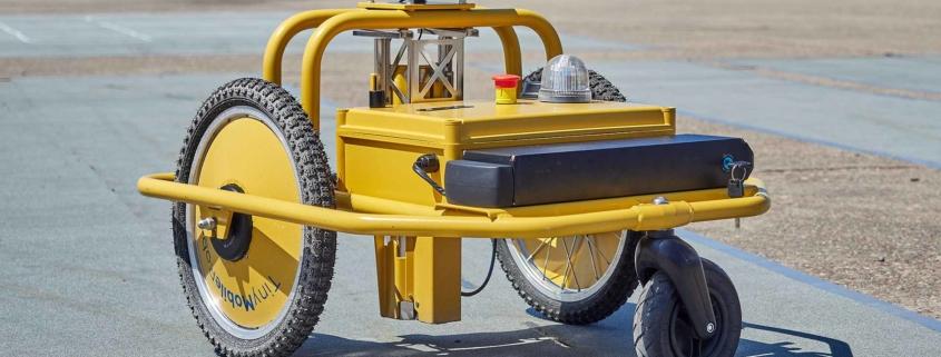 Highways England line-marking robot