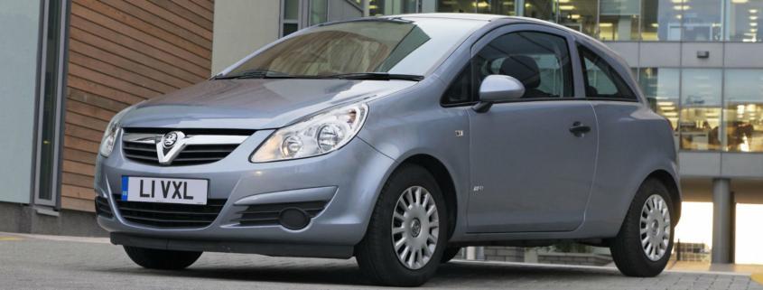 Vauxhall Corsa most serviced car