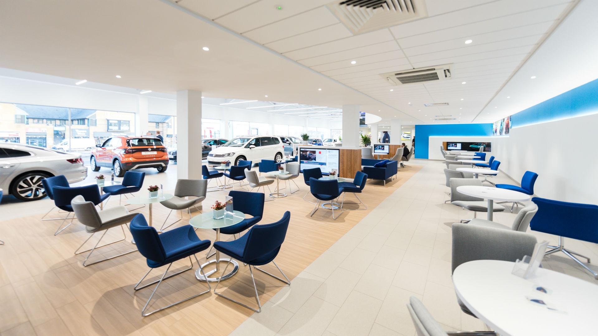 Volkswagen showroom of the future