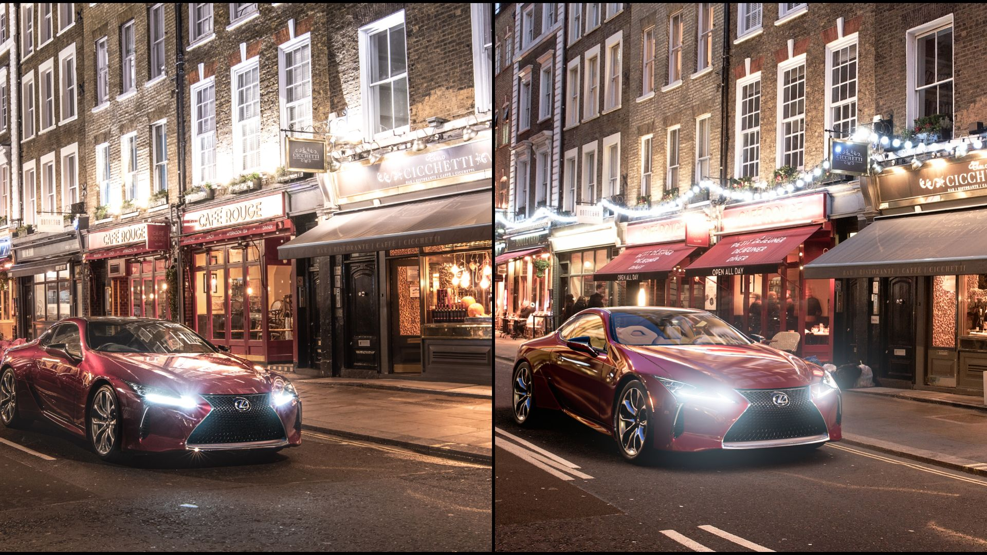 Lexus spot the difference between real and Gran Turismo