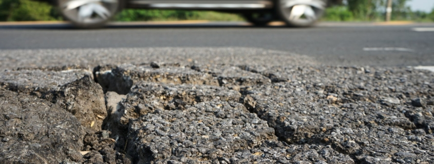 Potholes are the most annoying thing on the road