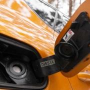 Diesel car fuel filler