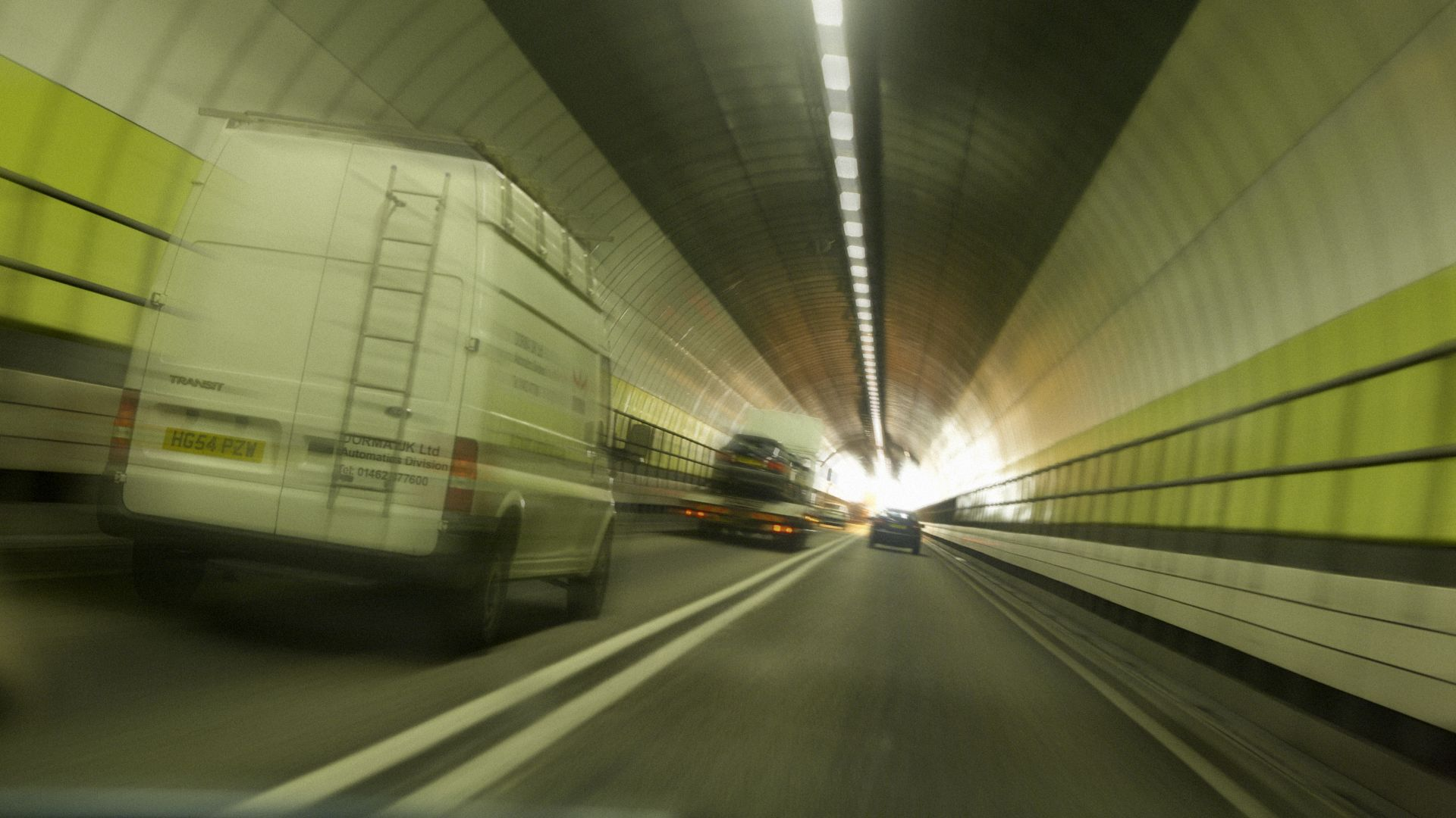 Highways England 70mph Thames tunnel