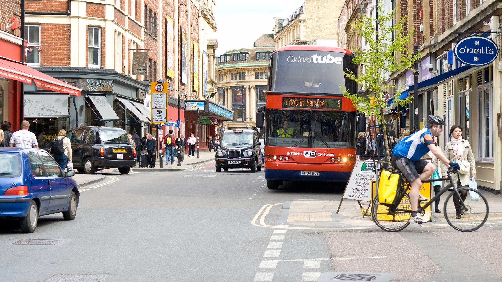 Oxford zero emission zone 2020