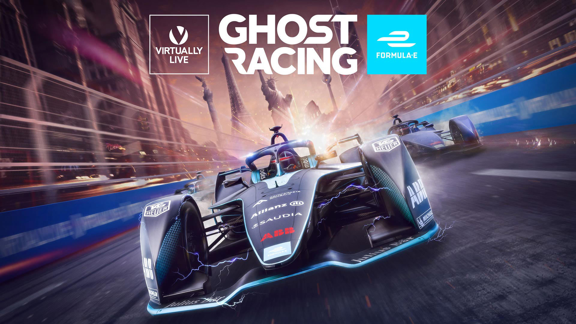 Virtually Live Formula E Ghost Racing