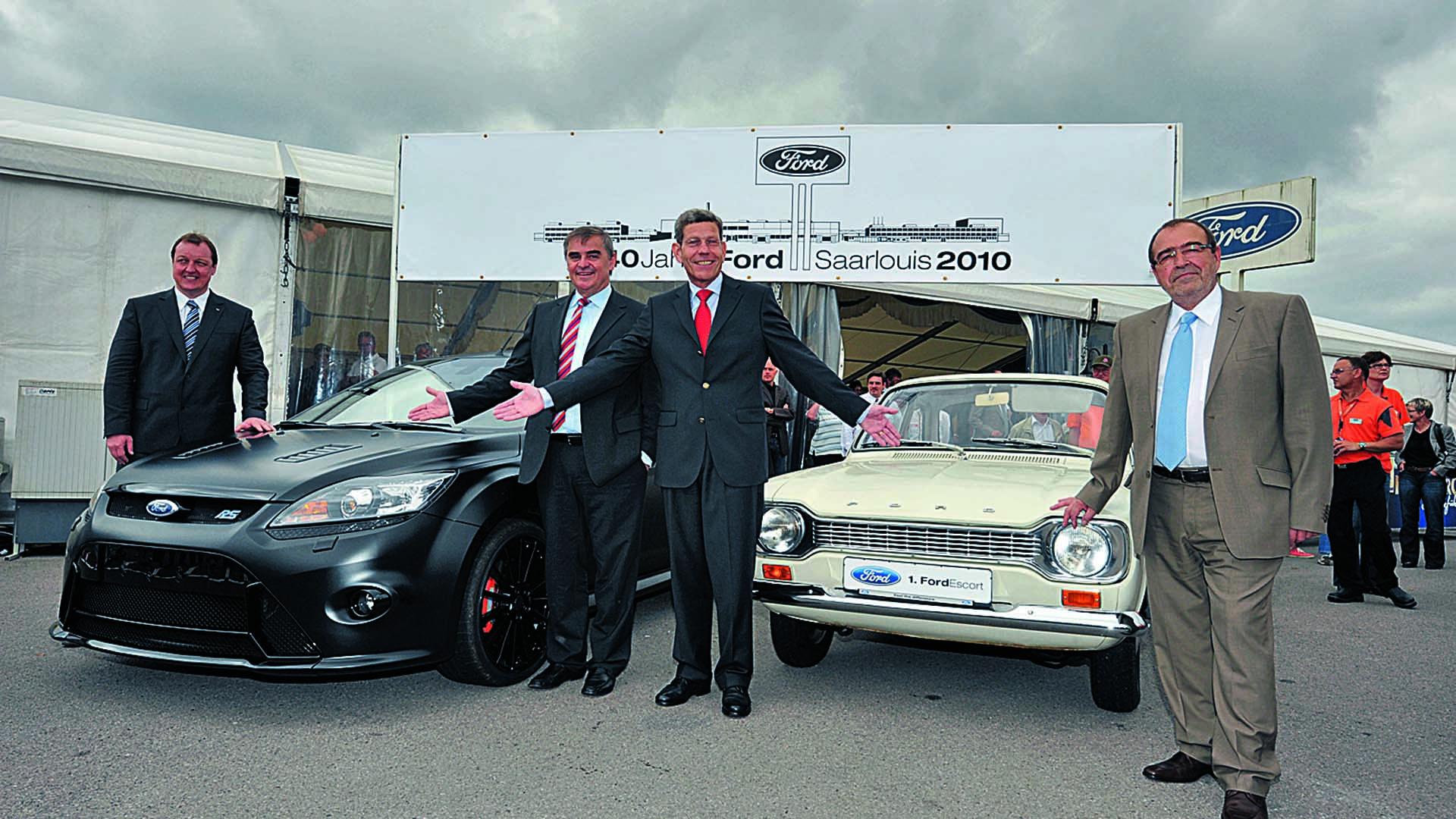 50 years of classic Fords