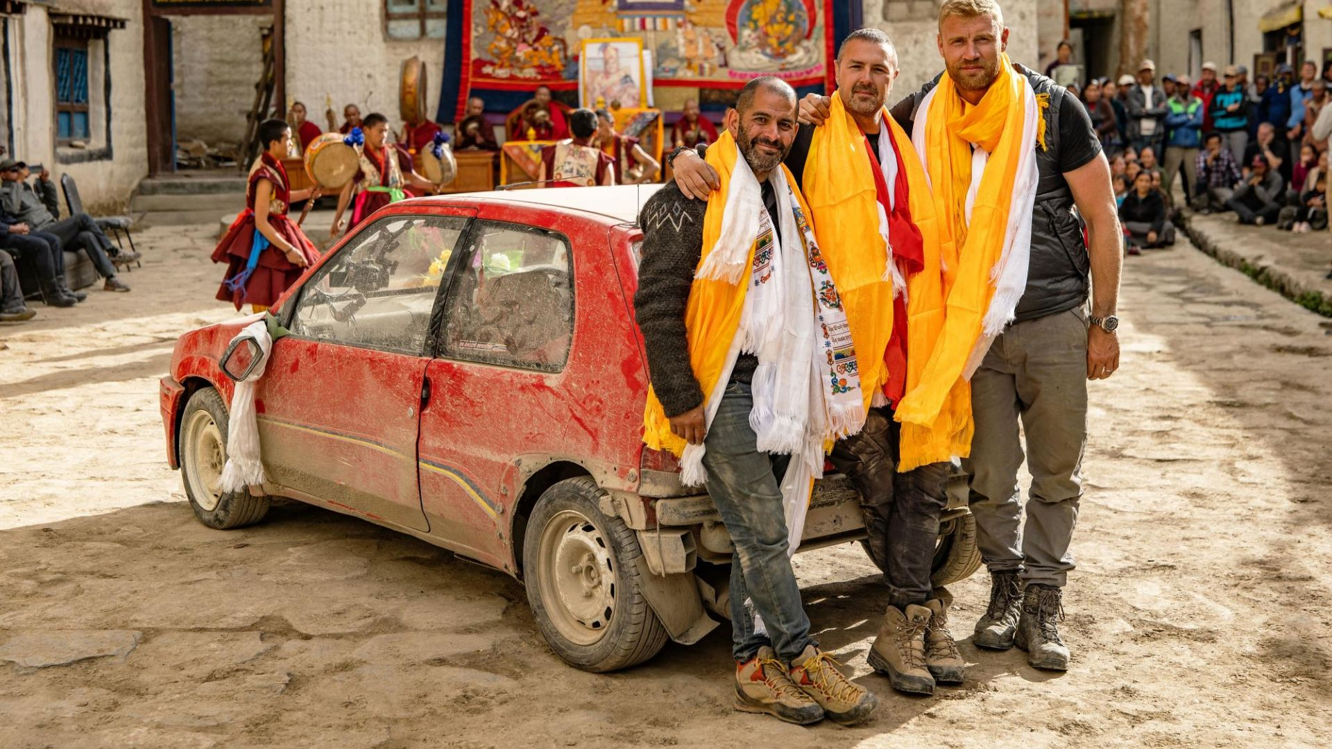 Top Gear Nepal cars on display during February half term