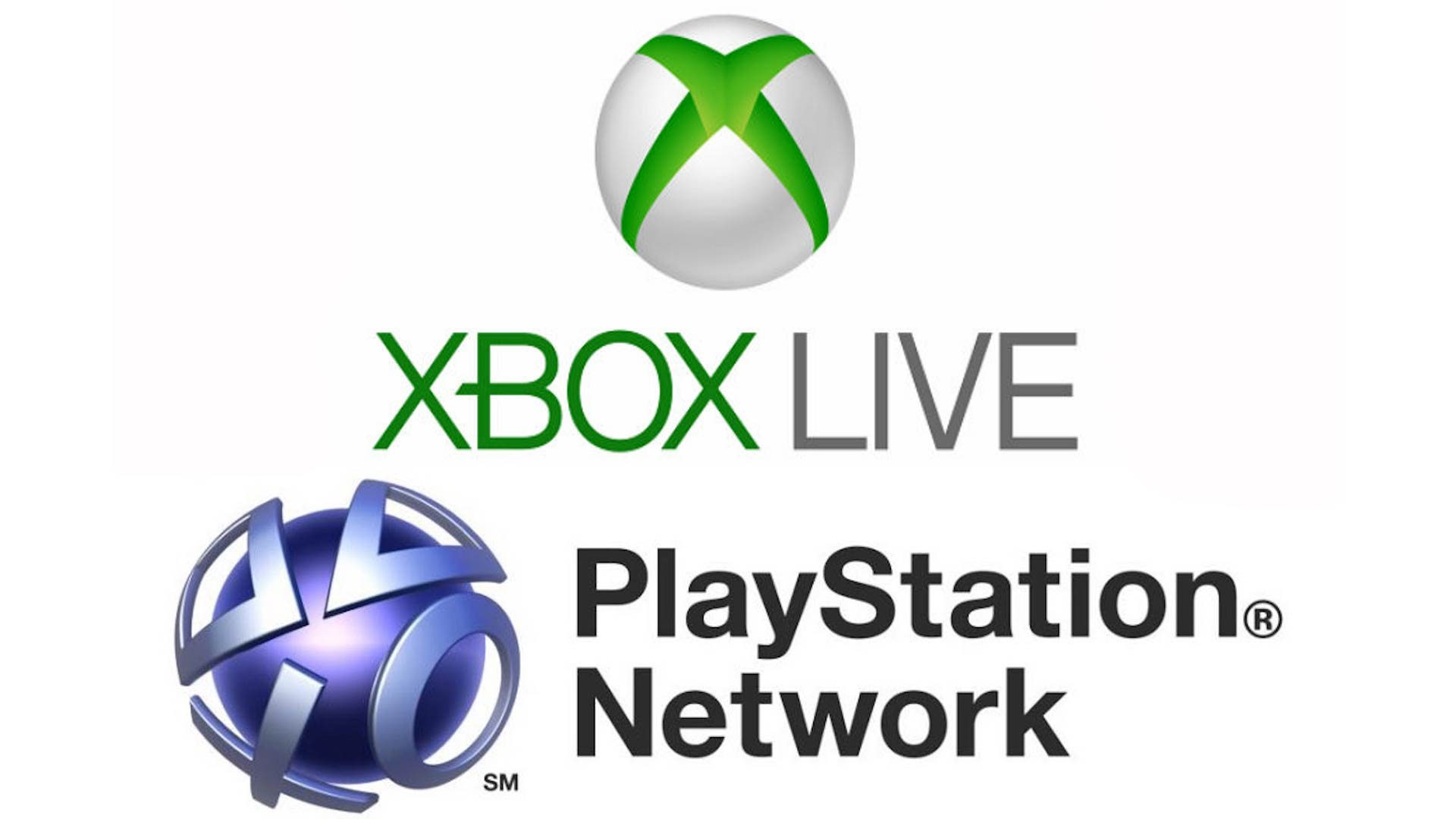 Xbox Live and PlayStation Network