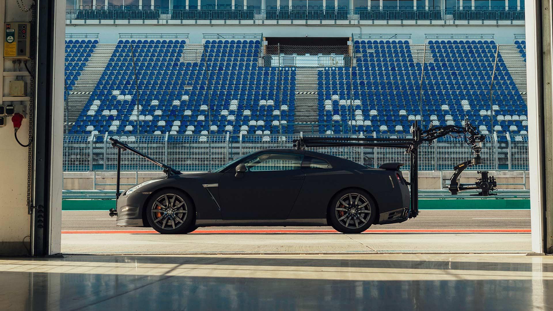2020 Nissan GTR NISMO Camera Car