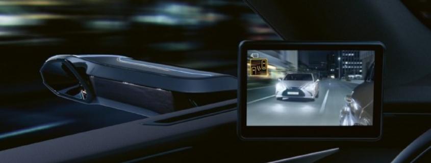 Lexus digital mirrors