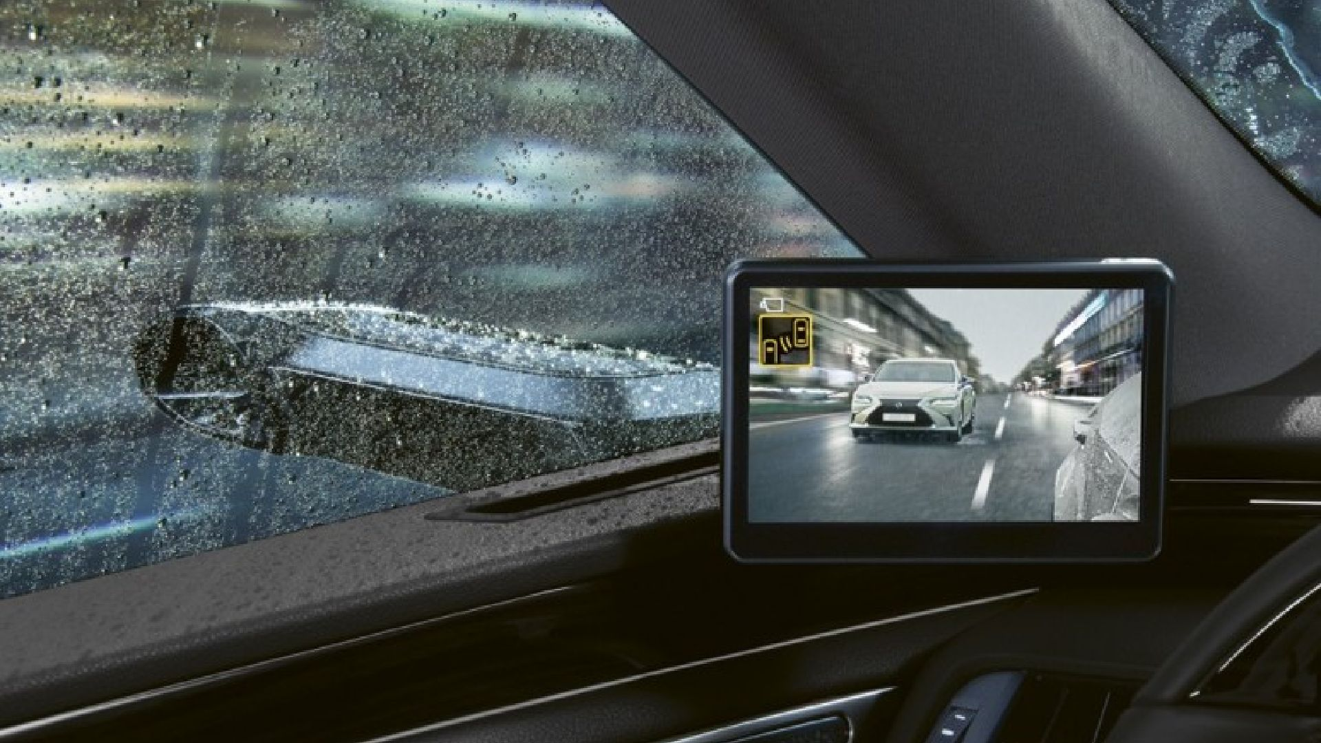 Lexus digital mirrors