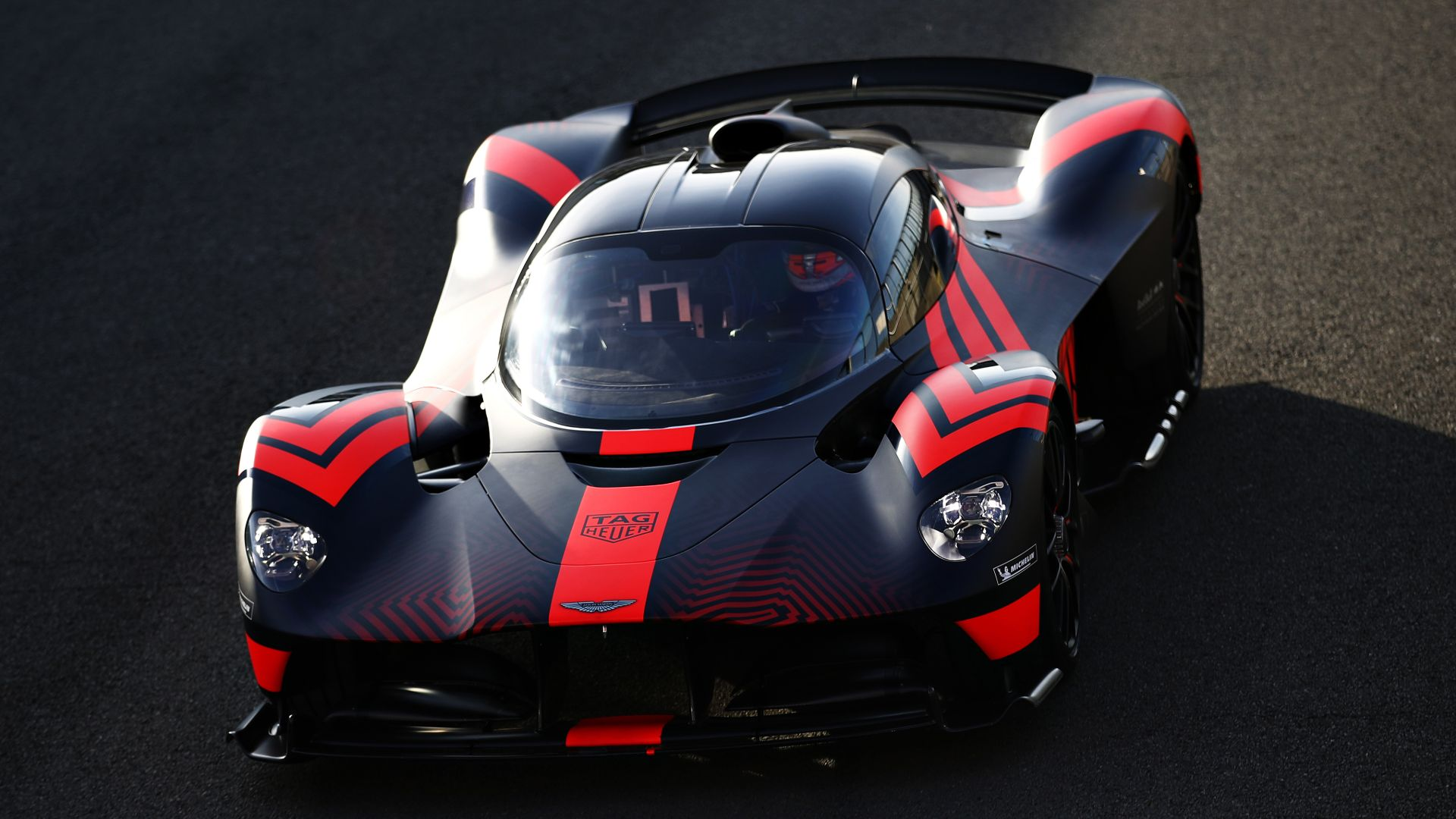 Aston Martin Valkyrie prototypes tested by F1 drivers at Silverstone