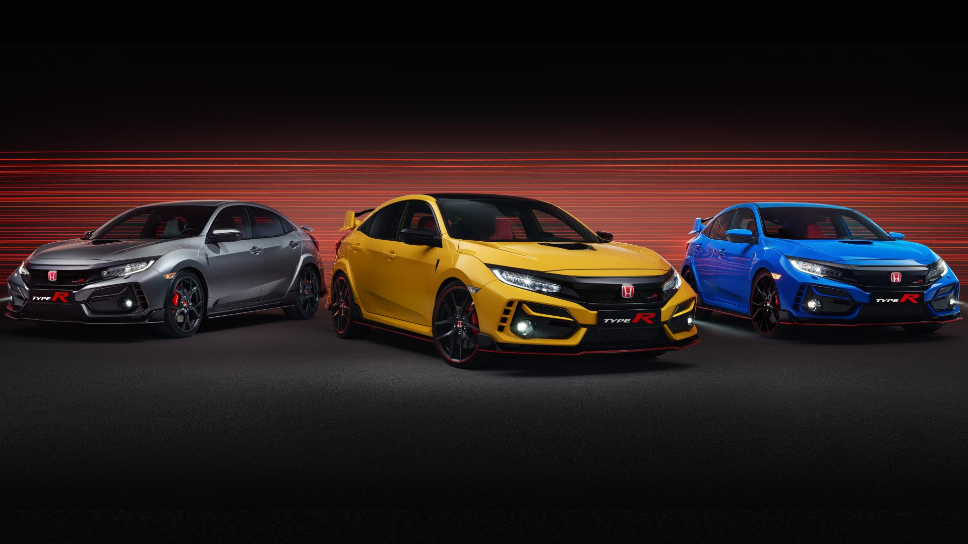 Civic Type R Range 2020