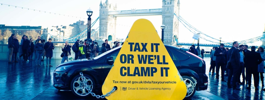 DVLA clamping down on tax evasion
