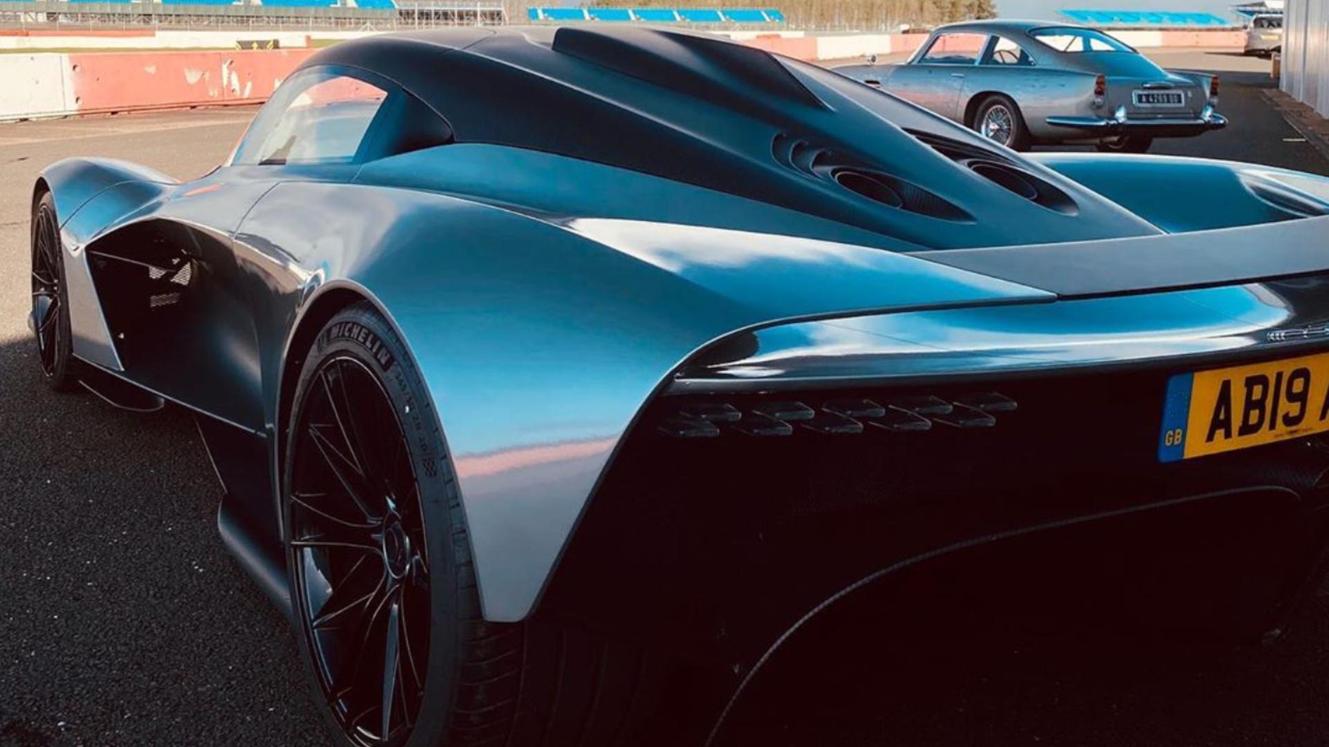 James Bond No Time To Die Aston Martin Valhalla