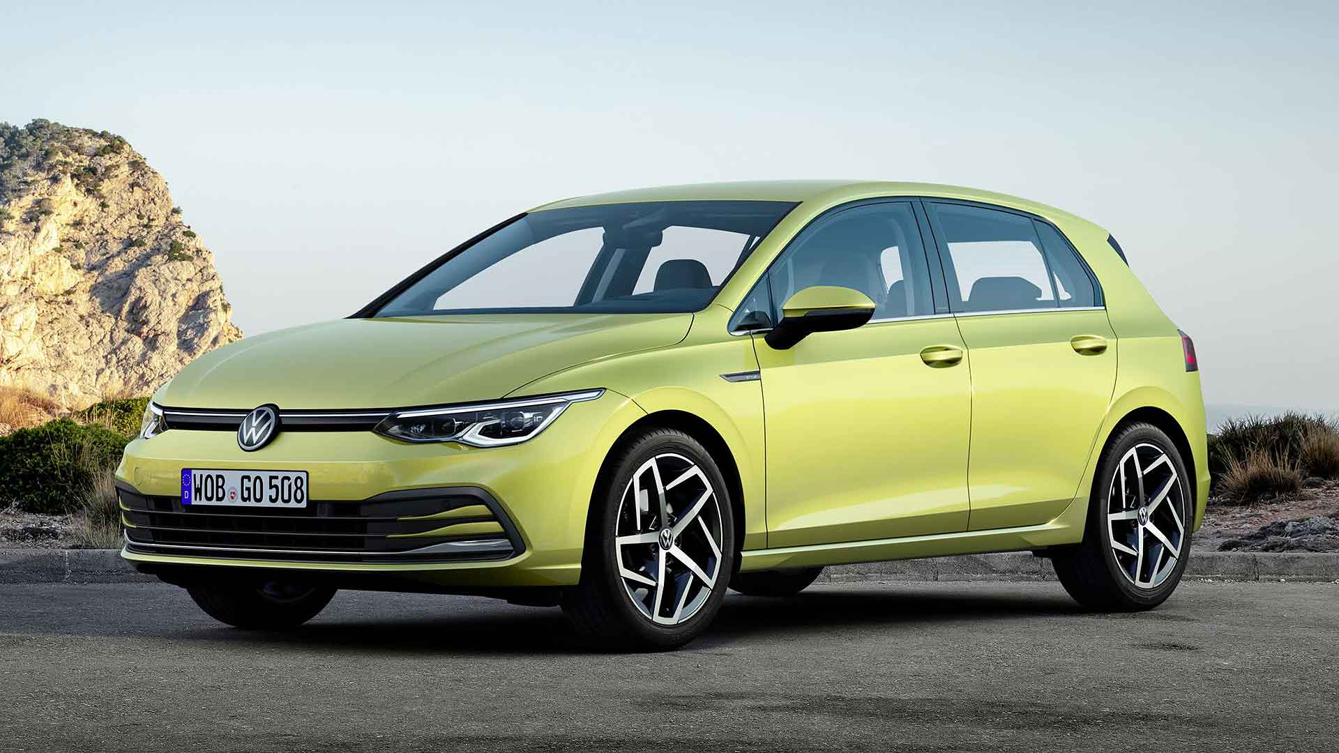 New Volkswagen Golf 8 prices start from £23,875 | Motoring Research