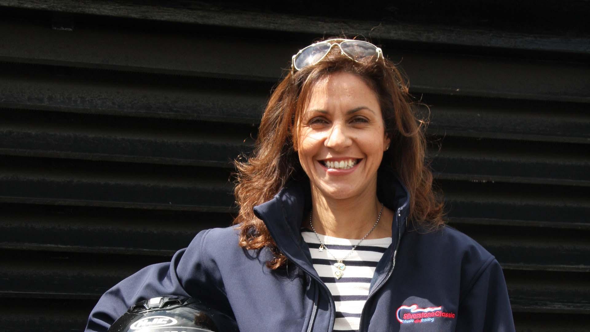 Julia Bradbury Yorkshire Motorsport Festival