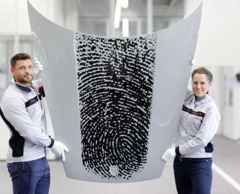 Porsche 911 Exclusive Manufaktur Fingerprint