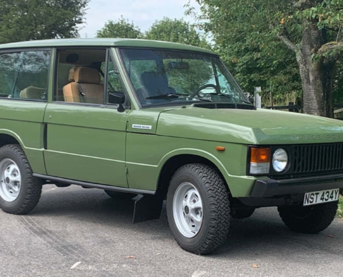 Salvage Hunters Classic Cars Range Rover