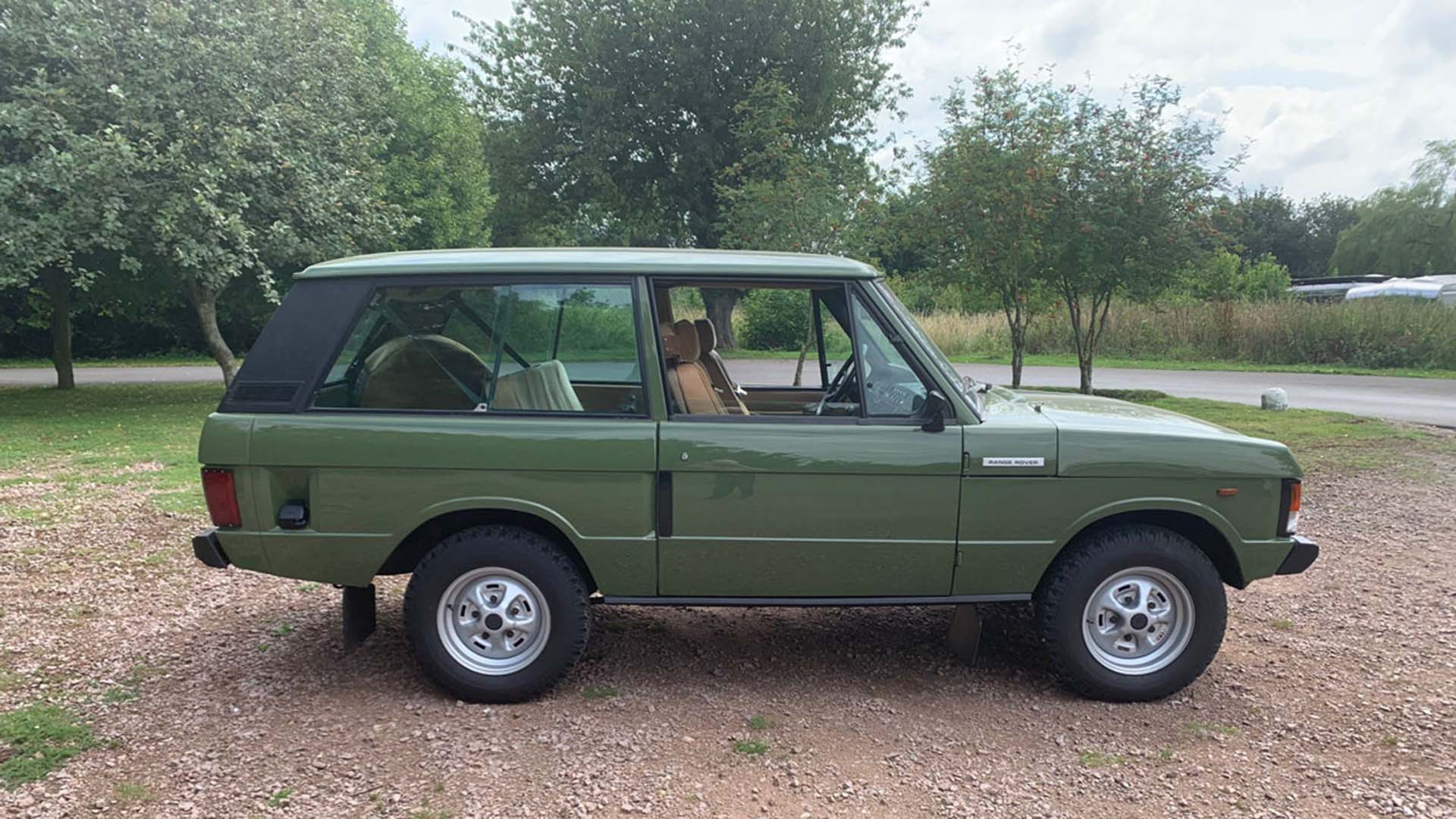 Salvage Hunters Range Rover for sale