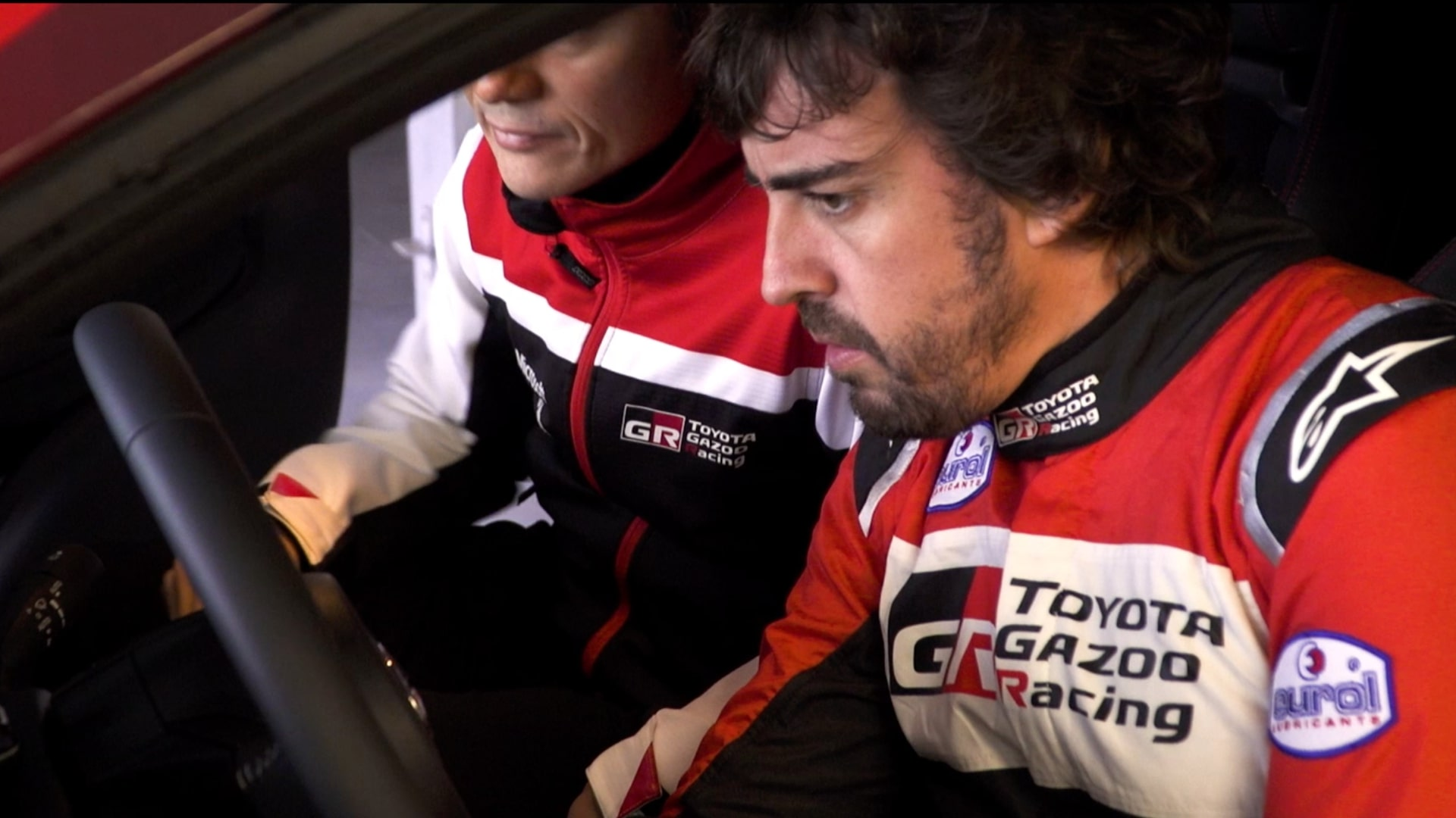 Fernando Alonso drives the new Toyota Yaris GR