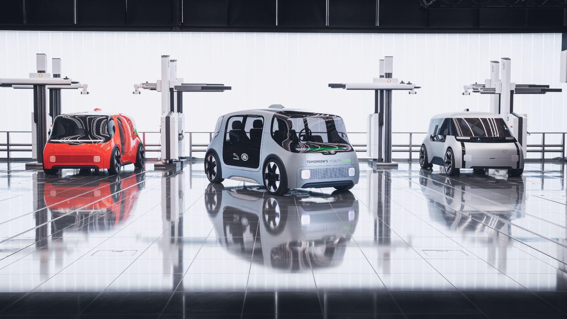 JLR Project Vector, autonomous pod for the future
