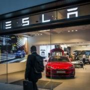 Tesla stock jumps in price