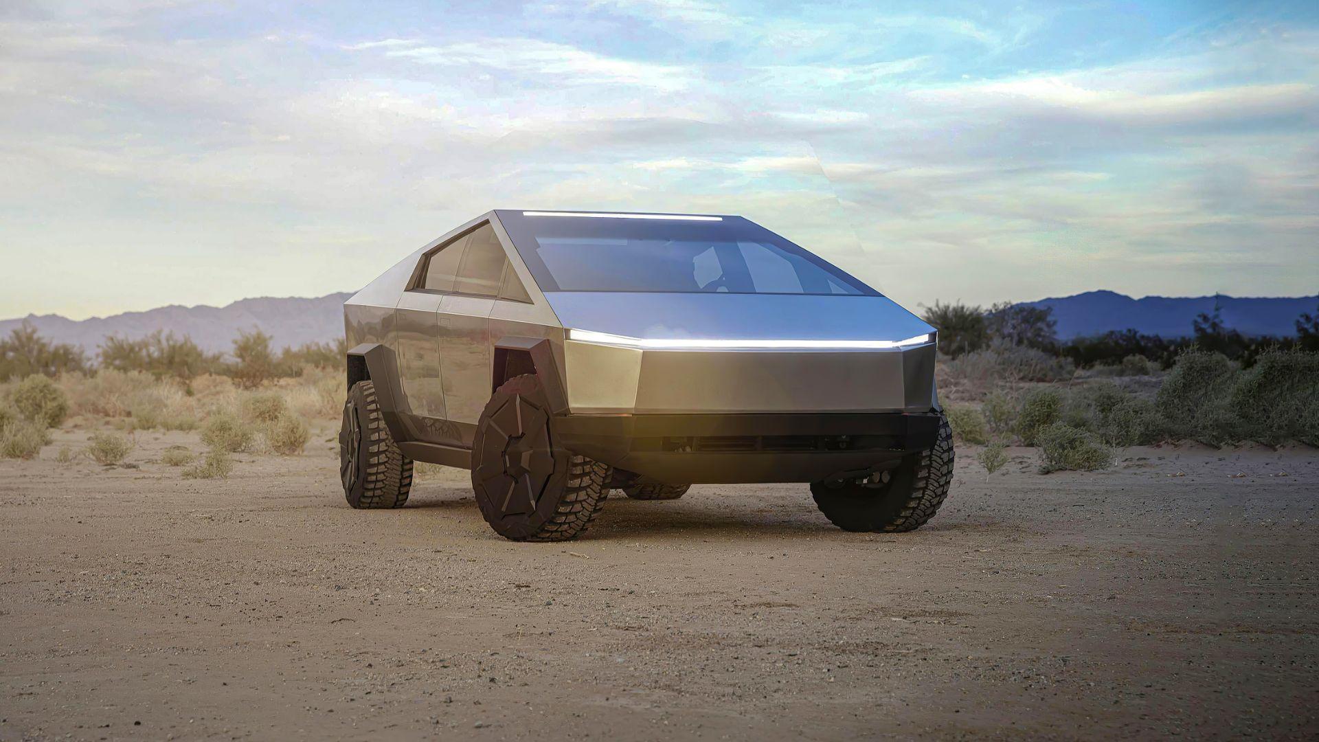 Tesla Cybertruck wouldn't be legal in Europe