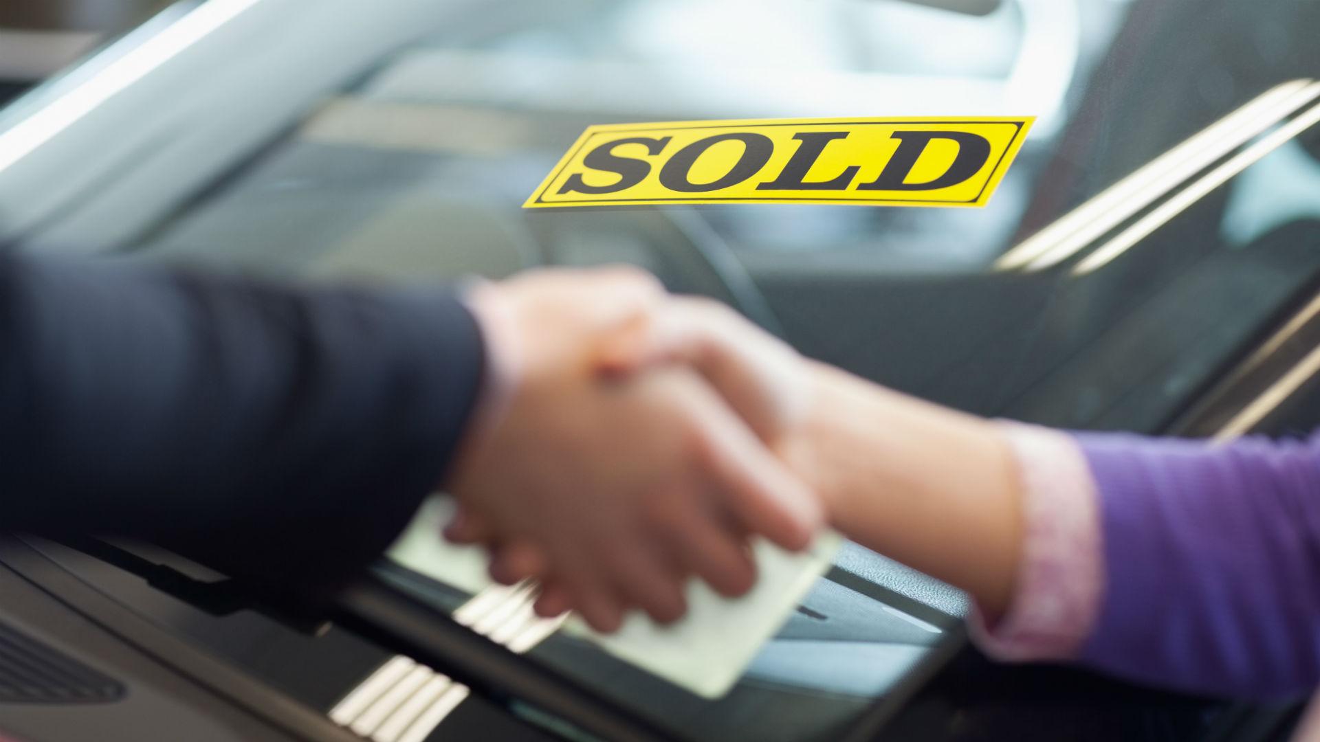sold a car