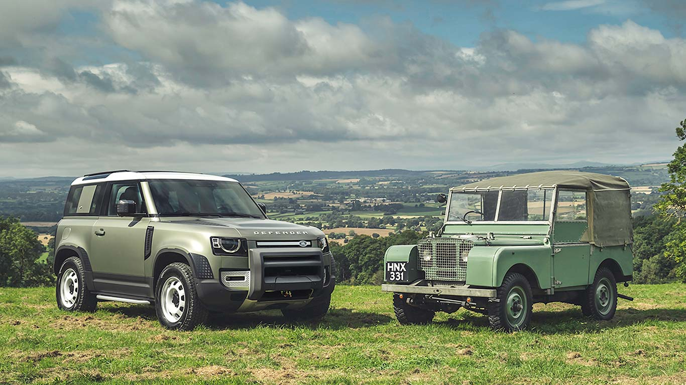 Land Rover Defender: since 1948