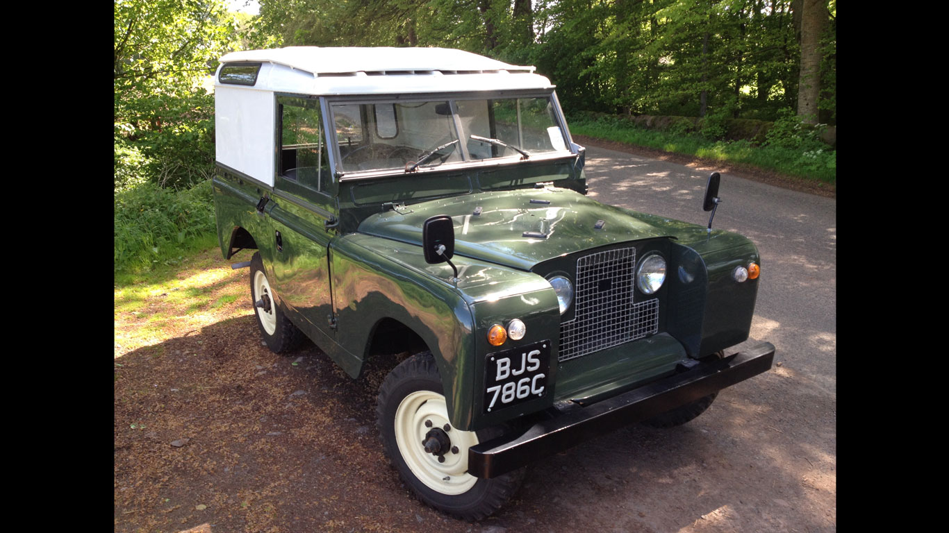 Land Rover Series II design