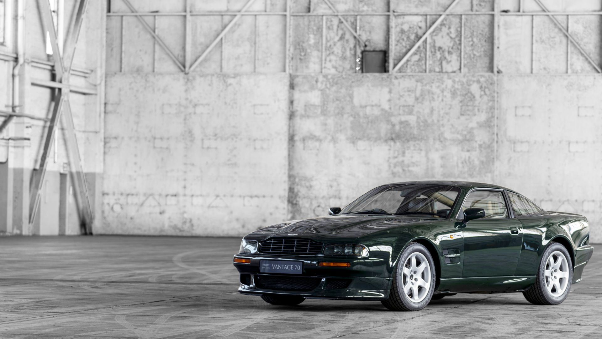 Supercharged Vantage – the 'brute in a suit'