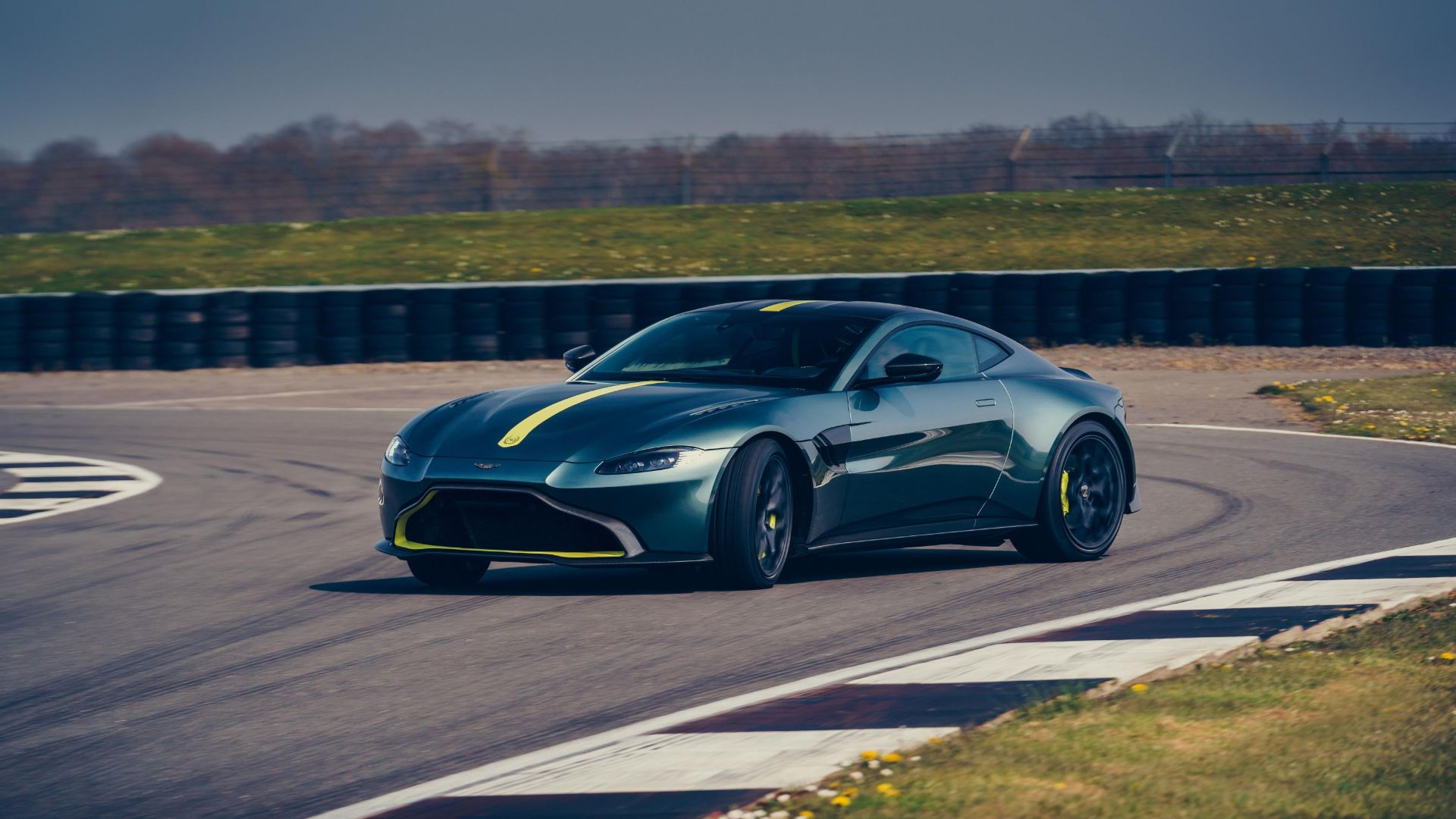 Vantage AMR and manual gearbox