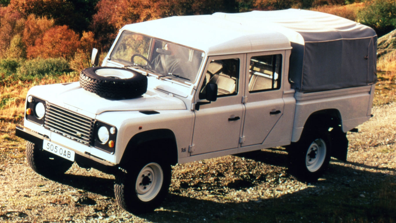 127-inch Land Rover