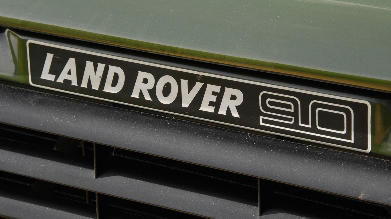 Land Rover 90 and 110 turbodiesel