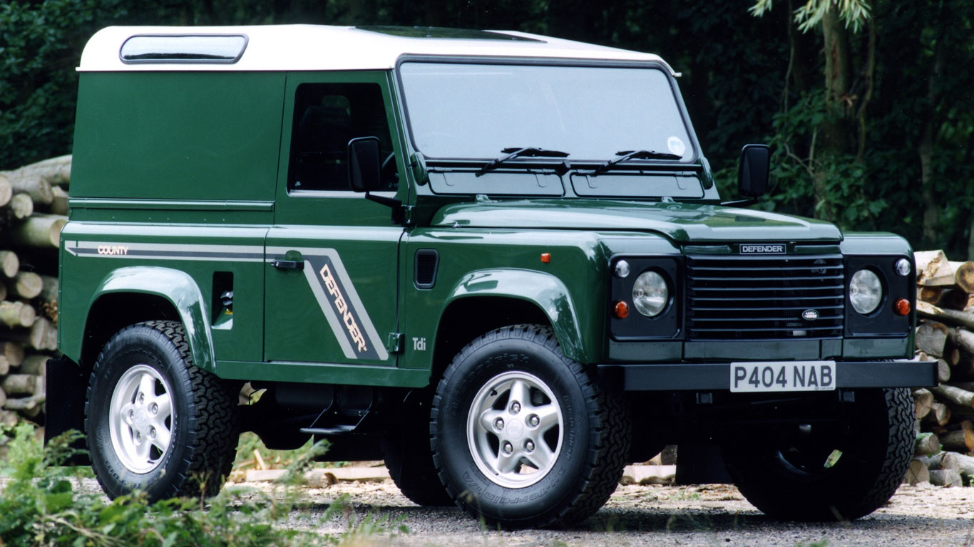 Defender 200TDI and 300TDI