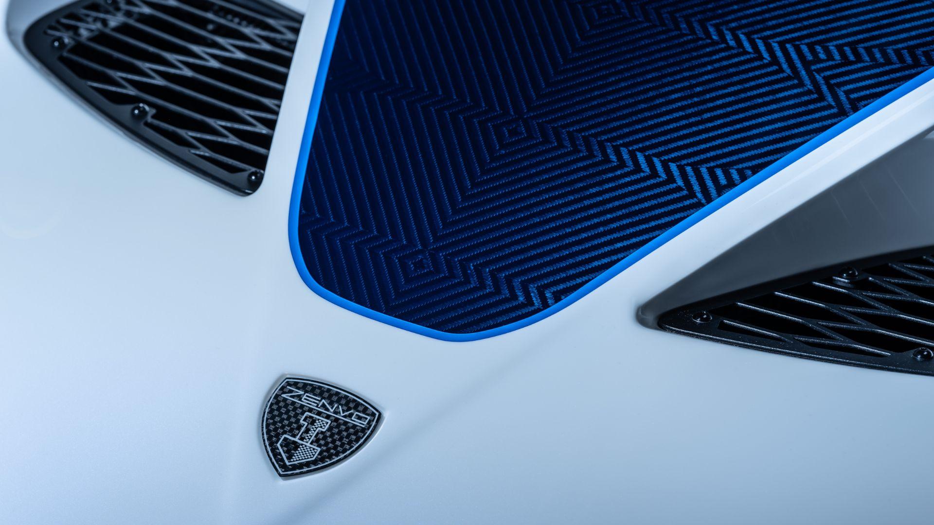 Zenvo TSR-S new wheels and gearbox