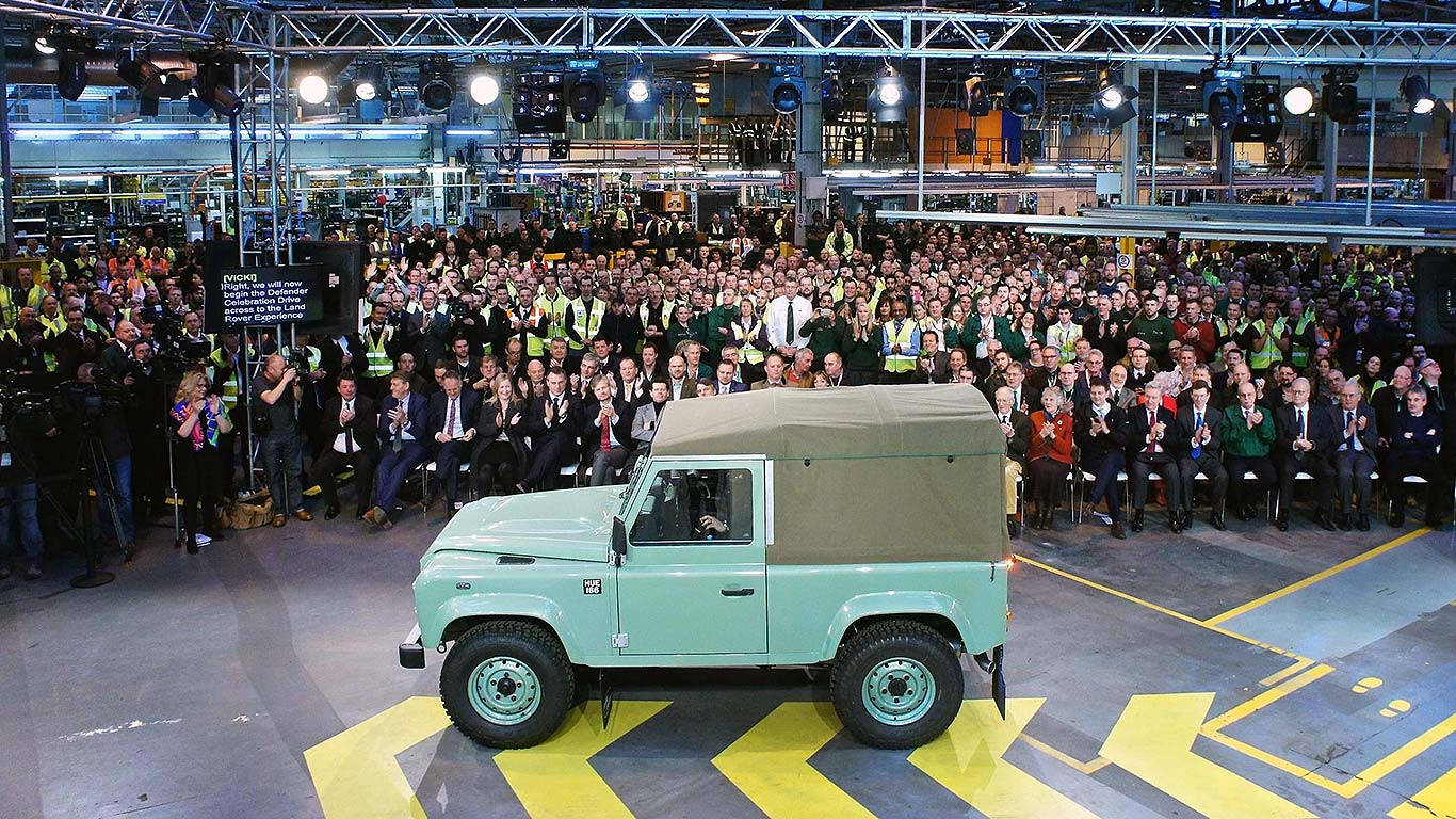 The final original Land Rover